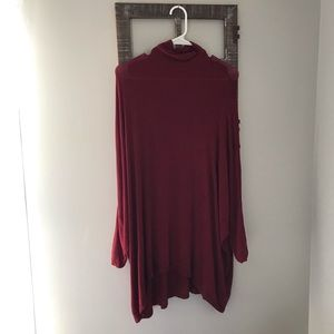 Free People We The Free Terry Tee Turtleneck XS